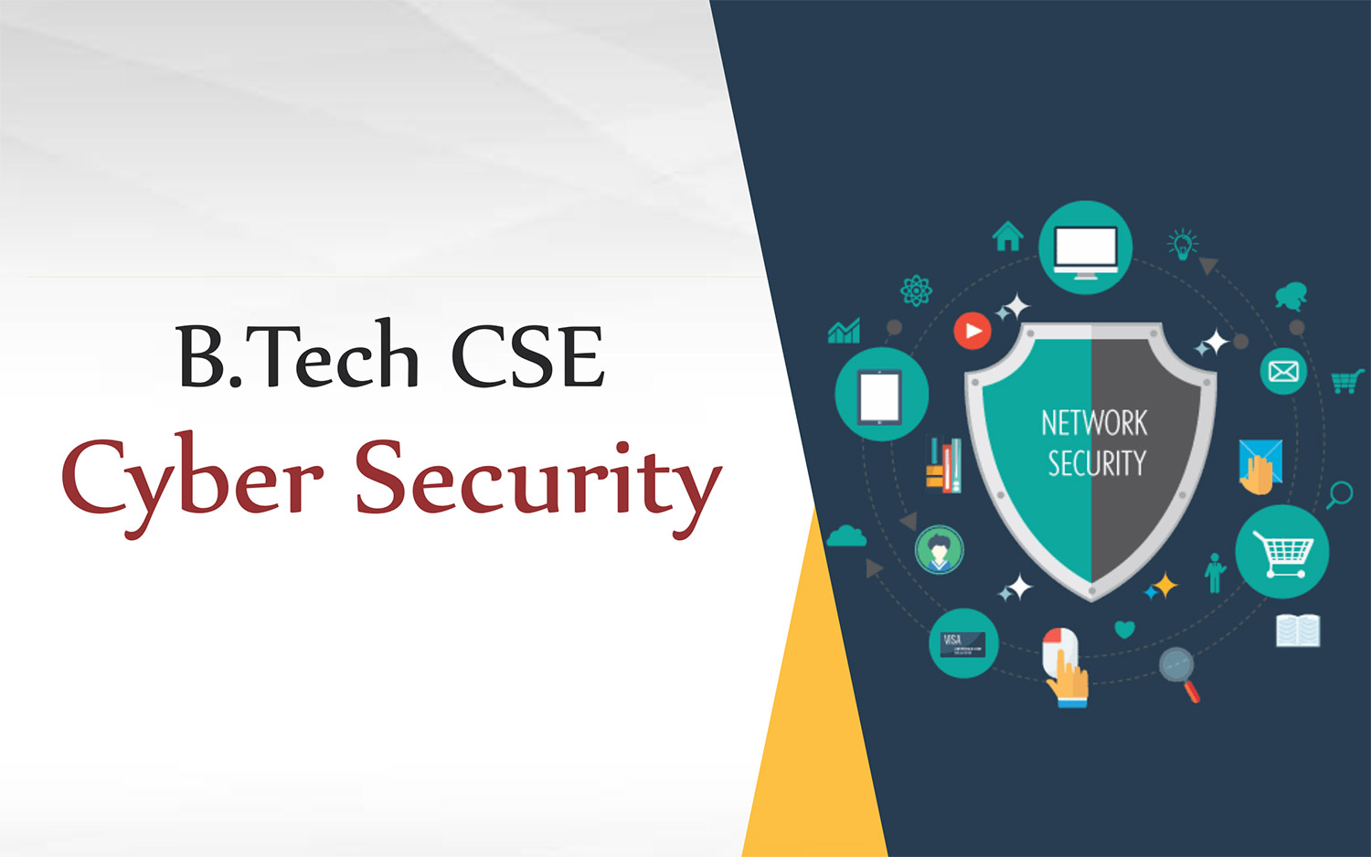 B.Tech CSE  Cyber Security
