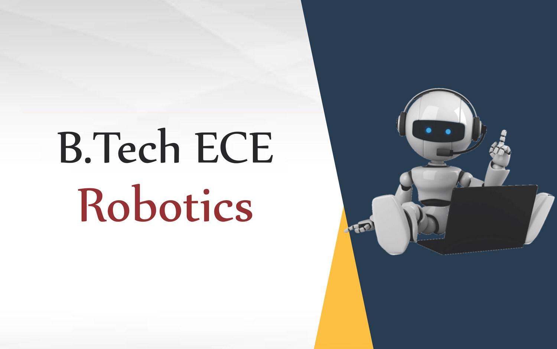 B.tech ECE Robotics